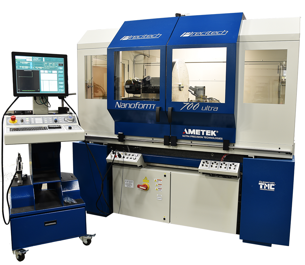 Nanoform 700 ultra large frame diamond turning machining center