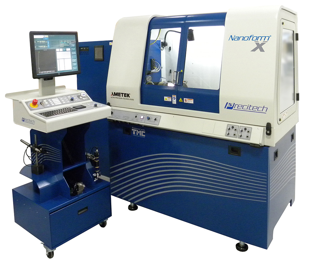 Nanoform X small frame diamond turning machining center