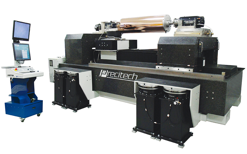 DRL1200 ultra precision drum roll lathe