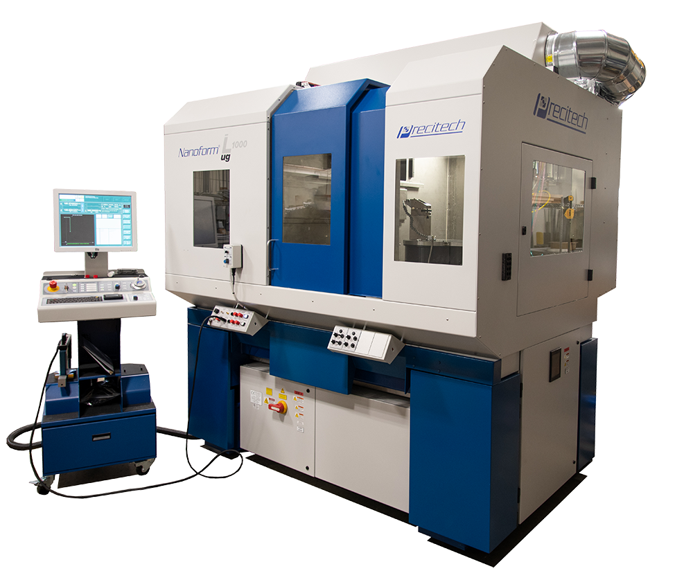 Nanoform L 1000 ultra grind ultra precision lathe for diamond turning and grinding